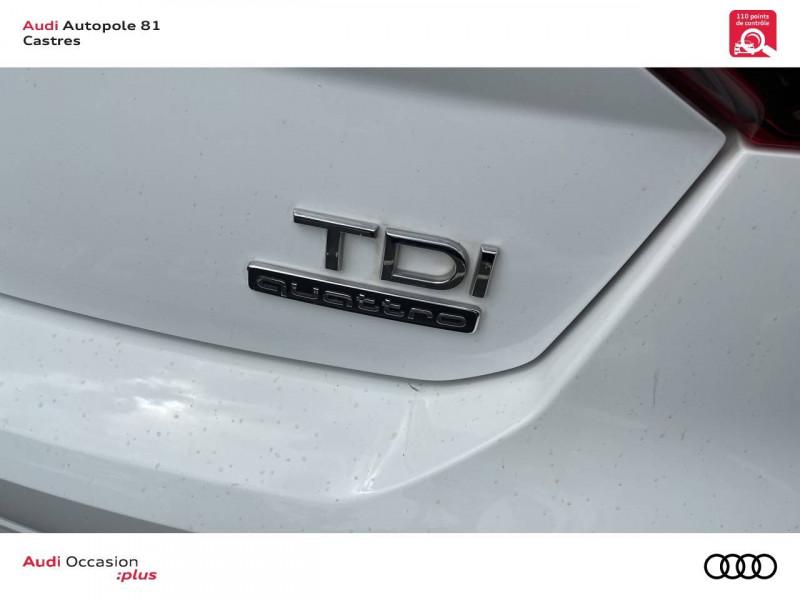 Audi Q2 Q2 2.0 TDI 150 ch S tronic 7 Quattro Sport 5p Blanc occasion à Castres - photo n°16