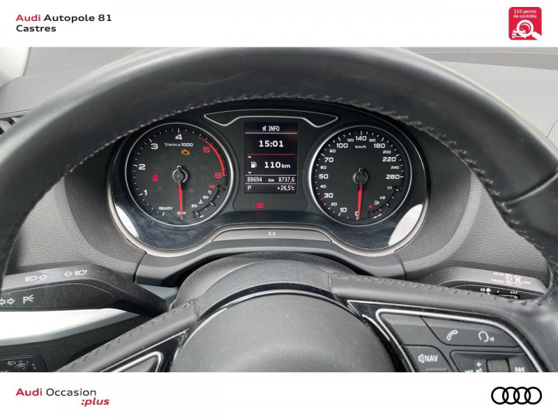 Audi Q2 Q2 2.0 TDI 150 ch S tronic 7 Quattro Sport 5p Blanc occasion à Castres - photo n°19