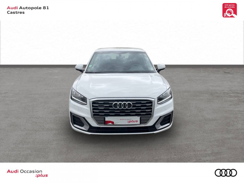 Audi Q2 Q2 2.0 TDI 150 ch S tronic 7 Quattro Sport 5p Blanc occasion à Castres - photo n°4