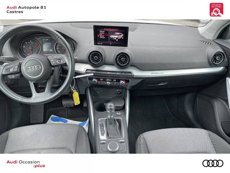 Audi Q2 Q2 2.0 TDI 150 ch S tronic 7 Quattro Sport 5p Blanc occasion à Castres - photo n°10