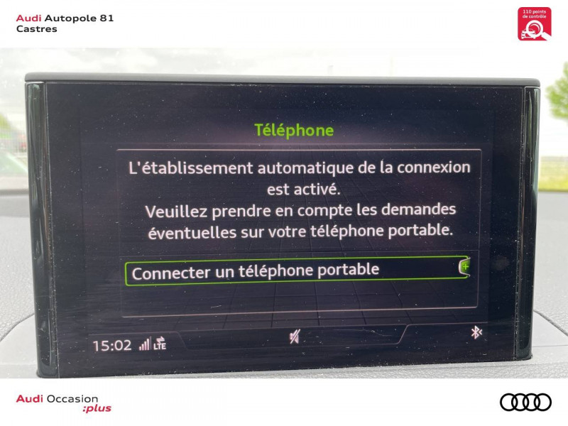 Audi Q2 Q2 2.0 TDI 150 ch S tronic 7 Quattro Sport 5p Blanc occasion à Castres - photo n°8