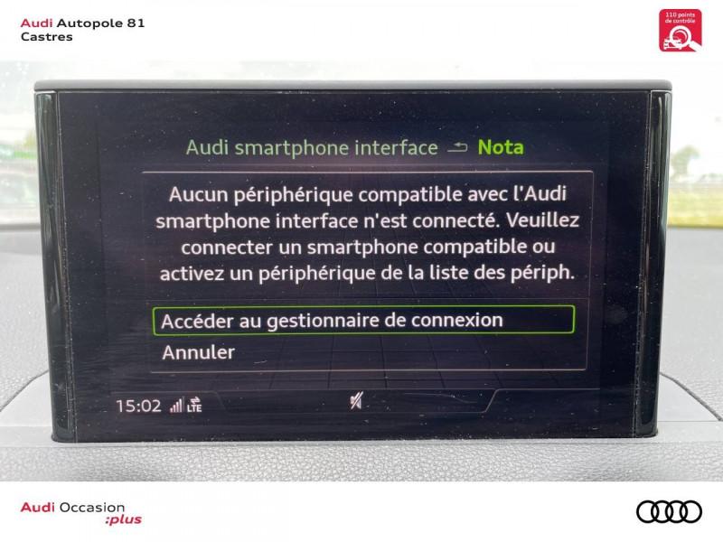 Audi Q2 Q2 2.0 TDI 150 ch S tronic 7 Quattro Sport 5p Blanc occasion à Castres - photo n°11