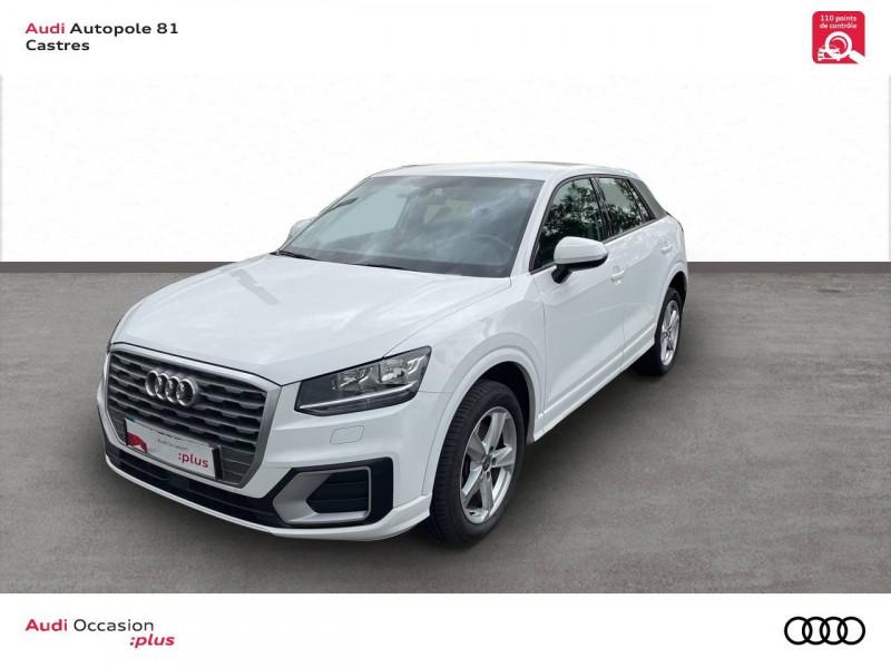 Audi Q2 Q2 2.0 TDI 150 ch S tronic 7 Quattro Sport 5p Blanc occasion à Castres