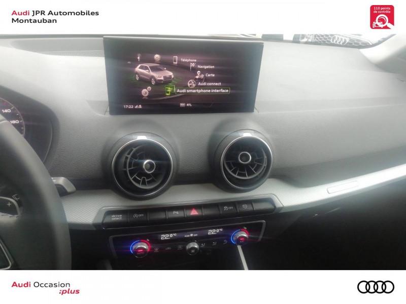 Audi Q2 Q2 30 TDI 116 S tronic 7 Design Luxe 5p  occasion à montauban - photo n°19