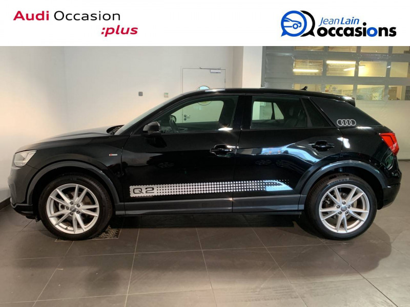 Audi Q2 Q2 30 TDI 116 S tronic 7 S Line 5p Noir occasion à Seynod - photo n°8