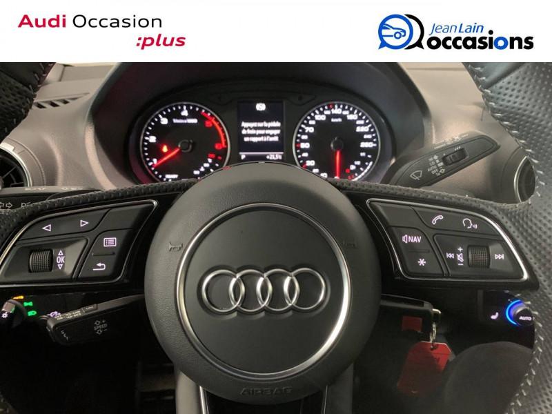 Audi Q2 Q2 30 TDI 116 S tronic 7 S Line 5p Noir occasion à Seynod - photo n°12