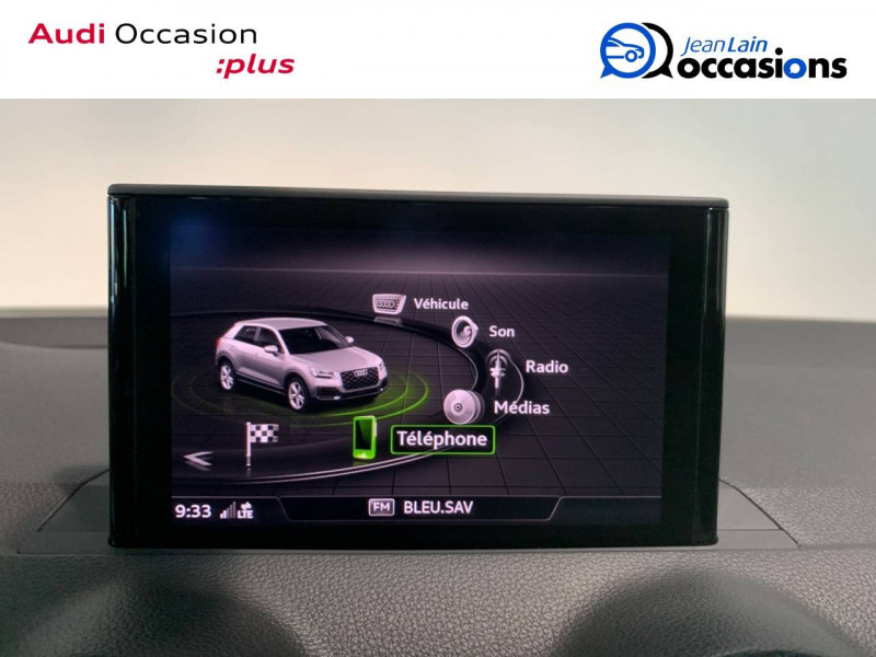 Audi Q2 Q2 30 TDI 116 S tronic 7 S Line 5p Noir occasion à Seynod - photo n°16