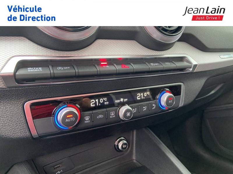 Audi Q2 Q2 35 TDI 150 S tronic 7 Advanced 5p Noir occasion à Ville-la-Grand - photo n°14