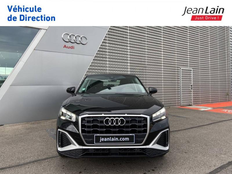 Audi Q2 Q2 35 TDI 150 S tronic 7 Advanced 5p Noir occasion à Ville-la-Grand - photo n°2