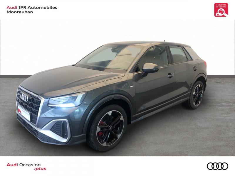 Audi Q2 Q2 35 TFSI 150 S tronic 7 S Line 5p Gris occasion à montauban