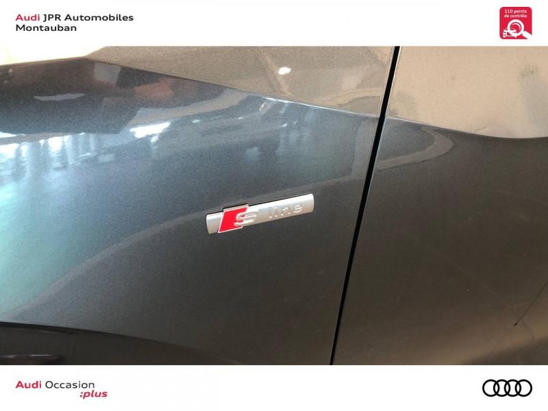 Audi Q2 Q2 35 TFSI 150 S tronic 7 S Line 5p Gris occasion à montauban - photo n°8