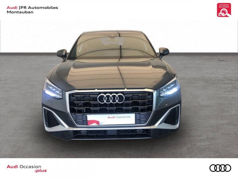 Audi Q2 Q2 35 TFSI 150 S tronic 7 S Line 5p Gris occasion à montauban - photo n°2