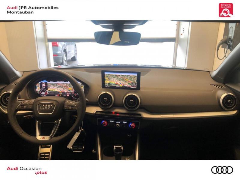 Audi Q2 Q2 35 TFSI 150 S tronic 7 S Line 5p Gris occasion à montauban - photo n°5