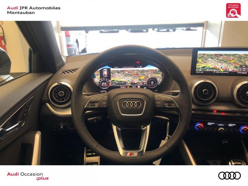 Audi Q2 Q2 35 TFSI 150 S tronic 7 S Line 5p Gris occasion à montauban - photo n°10