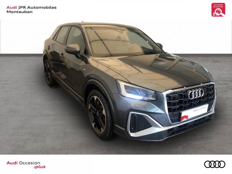 Audi Q2 Q2 35 TFSI 150 S tronic 7 S Line 5p Gris occasion à montauban - photo n°3
