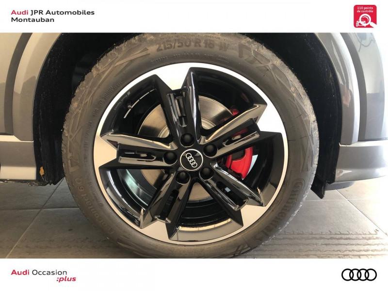 Audi Q2 Q2 35 TFSI 150 S tronic 7 S Line 5p Gris occasion à montauban - photo n°9