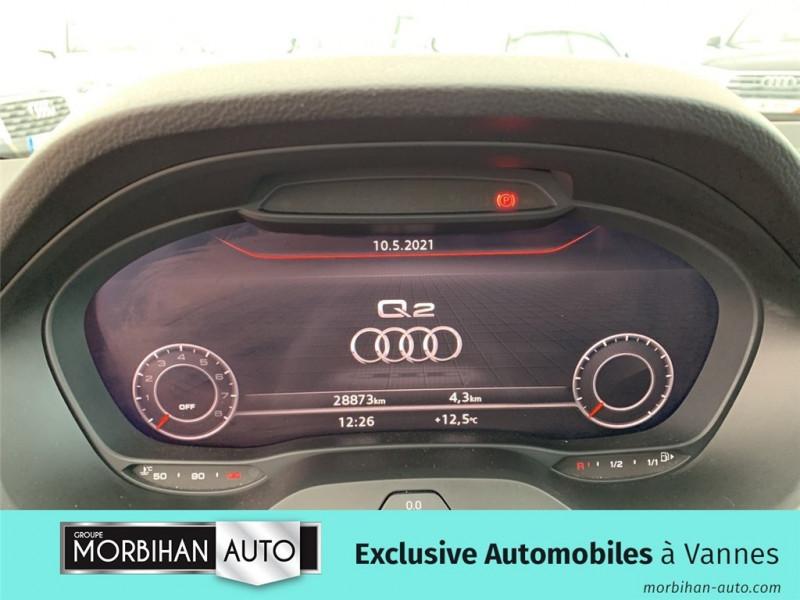 Audi Q2 Q2 35 TFSI COD 150 BVM6  occasion à Vannes - photo n°8