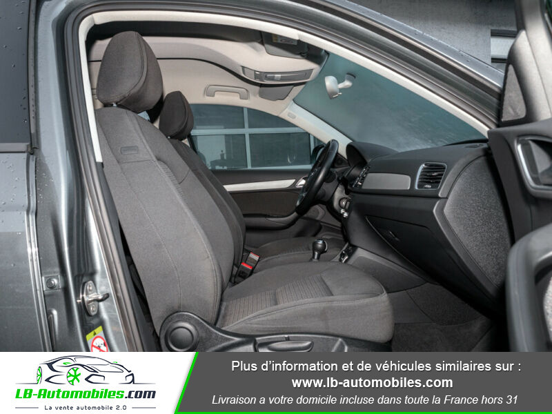 Audi Q3 1.4 TFSI 150 ch / S tronic 6 Gris occasion à Beaupuy - photo n°4