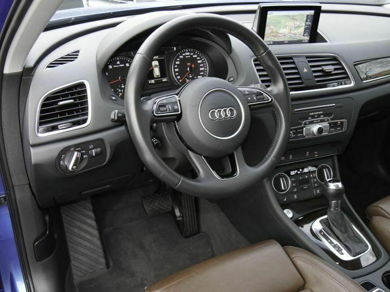 Audi Q3 1.4 TFSI 150 Bleu occasion à Beaupuy - photo n°2