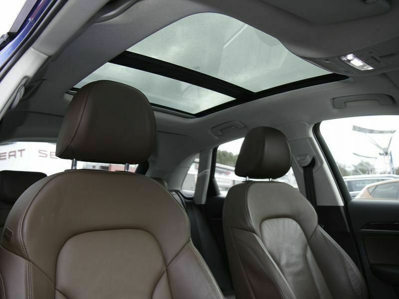 Audi Q3 1.4 TFSI 150 Bleu occasion à Beaupuy - photo n°5