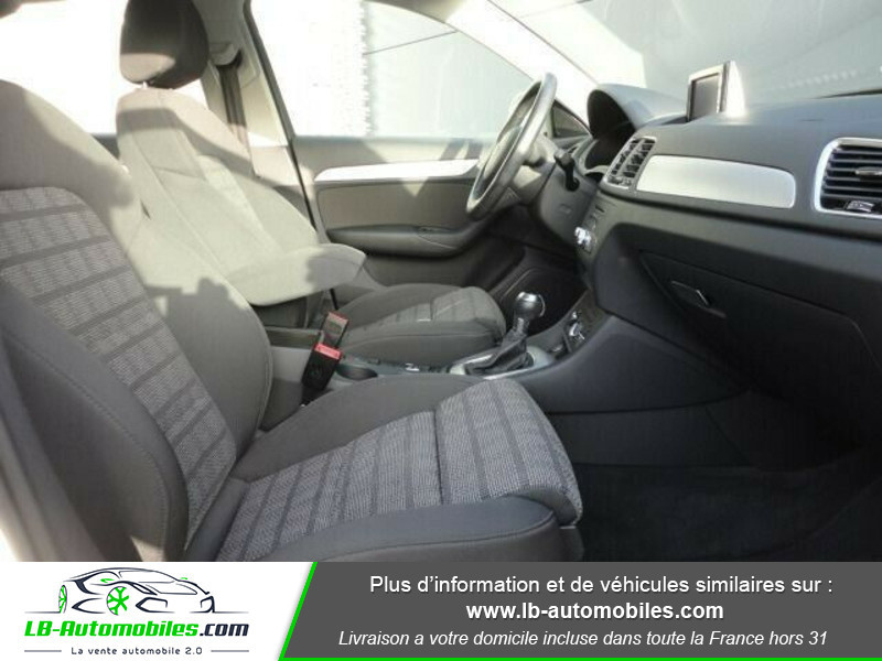 Audi Q3 2.0 TDI 120ch S tronic Blanc occasion à Beaupuy - photo n°4