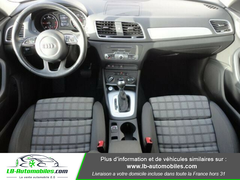 Audi Q3 2.0 TDI 120ch S tronic Blanc occasion à Beaupuy - photo n°2