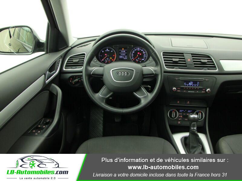 Audi Q3 2.0 TDI 120ch Noir occasion à Beaupuy - photo n°6