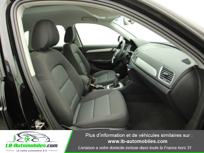 Audi Q3 2.0 TDI 120ch Noir occasion à Beaupuy - photo n°4