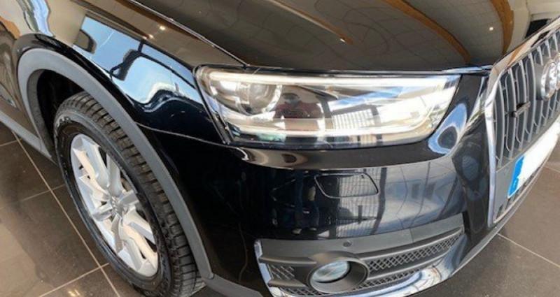 Audi Q3 2.0 TDI 140 AMBIENTE QUATTRO BVM6 Noir occasion à Saint Vincent De Boisset - photo n°6
