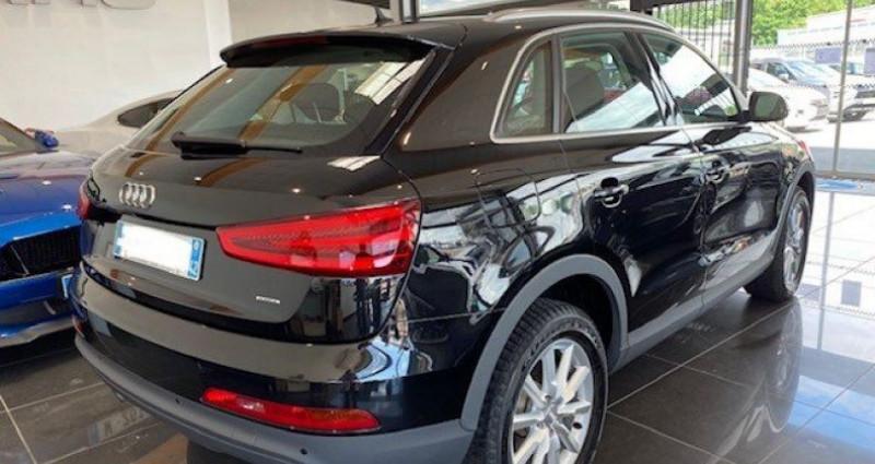 Audi Q3 2.0 TDI 140 AMBIENTE QUATTRO BVM6 Noir occasion à Saint Vincent De Boisset - photo n°5