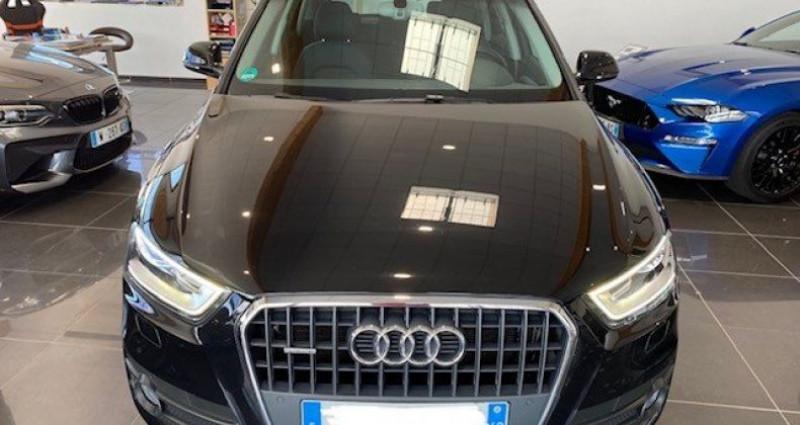 Audi Q3 2.0 TDI 140 AMBIENTE QUATTRO BVM6 Noir occasion à Saint Vincent De Boisset - photo n°3