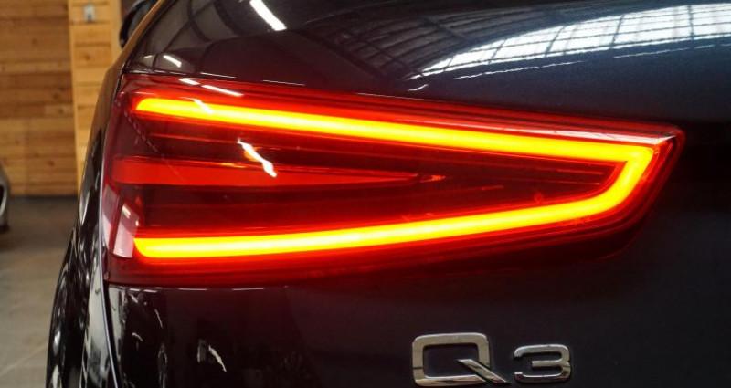 Audi Q3 2.0 TDI 140 BUSINESS LINE QUATTRO Bleu occasion à RONCQ - photo n°7