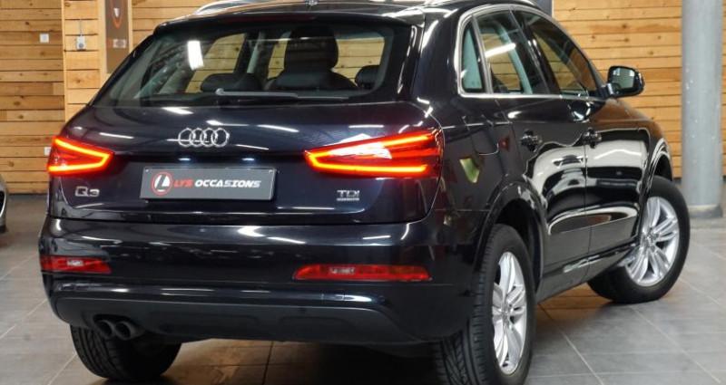 Audi Q3 2.0 TDI 140 BUSINESS LINE QUATTRO Bleu occasion à RONCQ - photo n°6