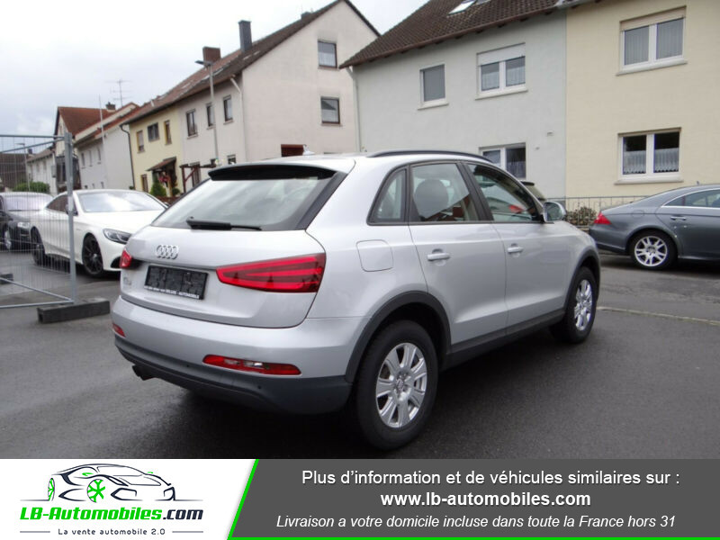 Audi Q3 2.0 TDI 140 ch Argent occasion à Beaupuy - photo n°3