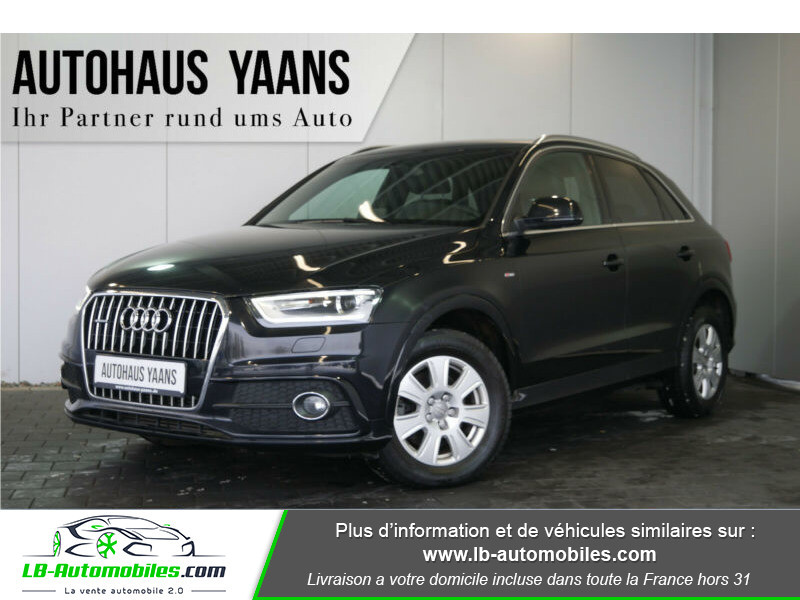 Audi Q3 2.0 TDI 140 ch Noir occasion à Beaupuy - photo n°15