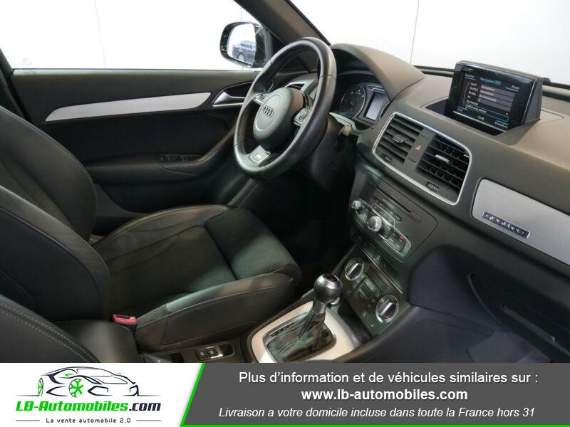Audi Q3 2.0 TDI 140 ch Noir occasion à Beaupuy - photo n°9