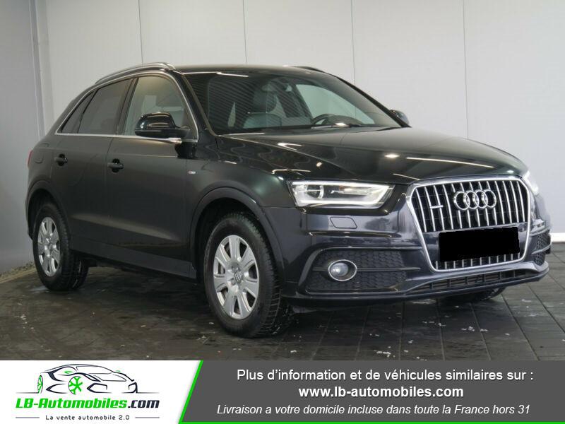 Audi Q3 2.0 TDI 140 ch Noir occasion à Beaupuy - photo n°12