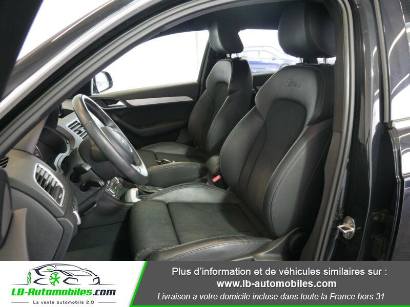 Audi Q3 2.0 TDI 140 ch Noir occasion à Beaupuy - photo n°7