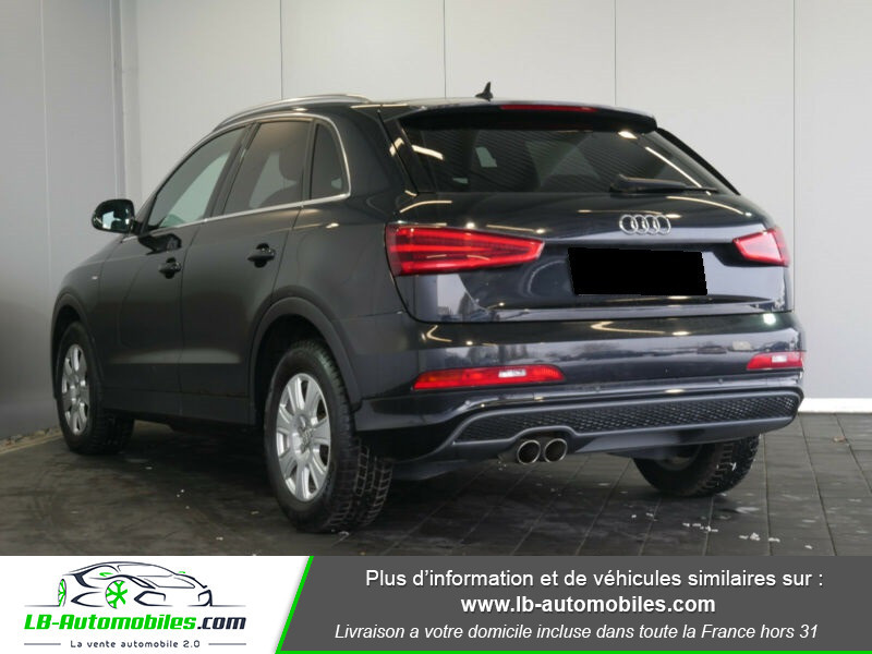 Audi Q3 2.0 TDI 140 ch Noir occasion à Beaupuy - photo n°3