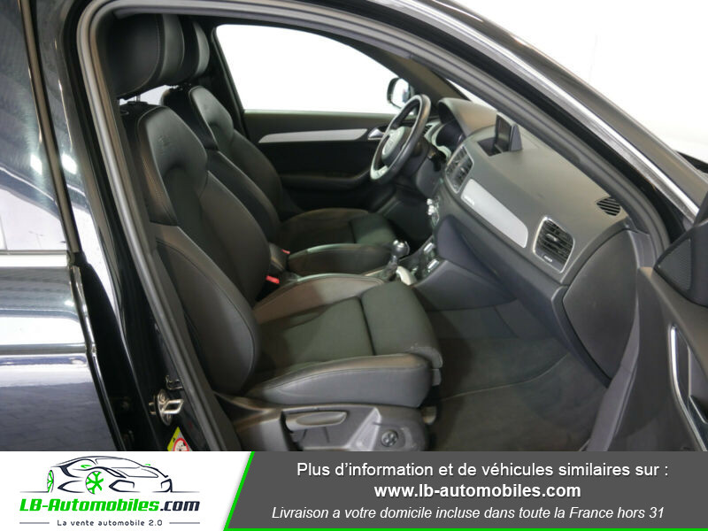 Audi Q3 2.0 TDI 140 ch Noir occasion à Beaupuy - photo n°10