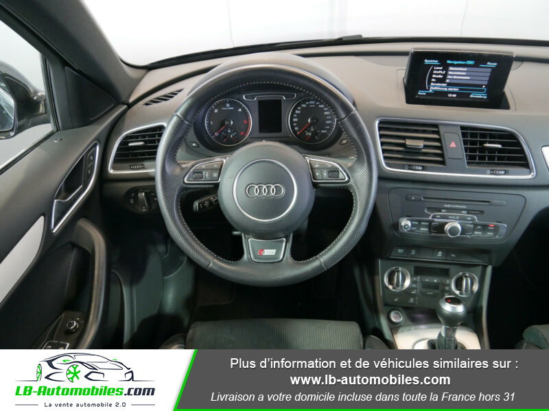 Audi Q3 2.0 TDI 140 ch Noir occasion à Beaupuy - photo n°4
