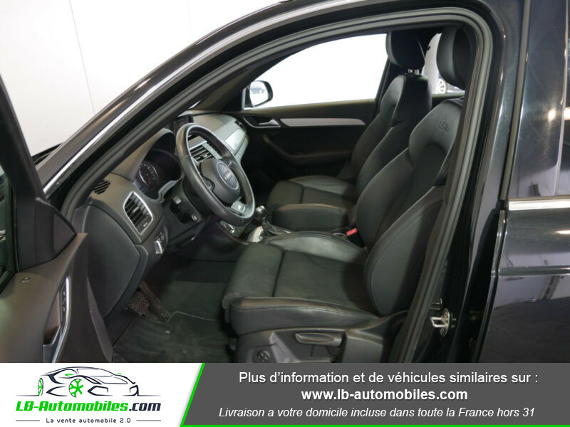 Audi Q3 2.0 TDI 140 ch Noir occasion à Beaupuy - photo n°6