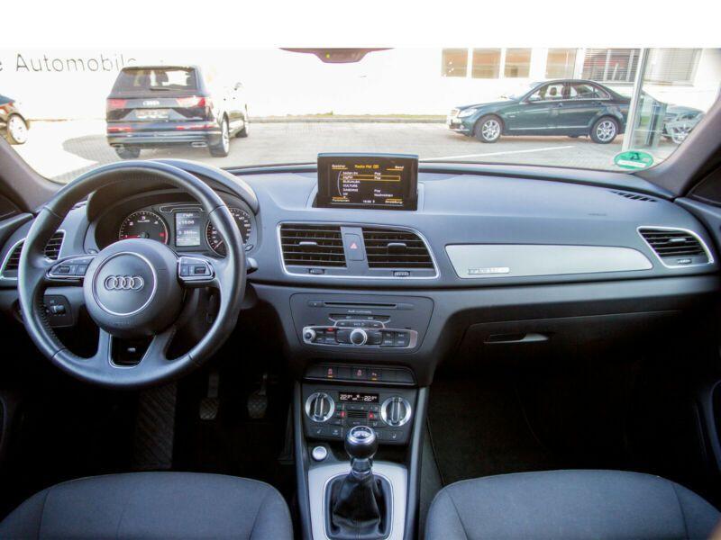 Audi Q3 2.0 TDI 140 Quattro Gris occasion à Beaupuy - photo n°2