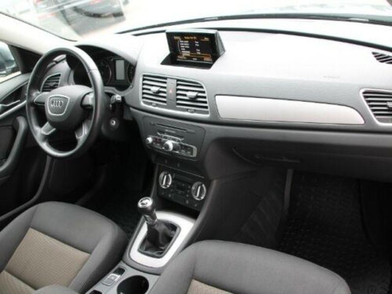 Audi Q3 2.0 TDI 140 Gris occasion à Beaupuy - photo n°6