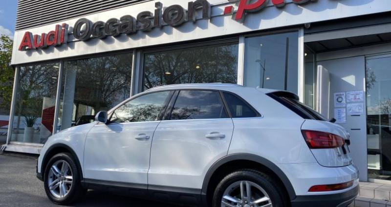 Audi Q3 2.0 TDI 150 ch Quattro Ambition Luxe Blanc occasion à Saint-Ouen - photo n°3