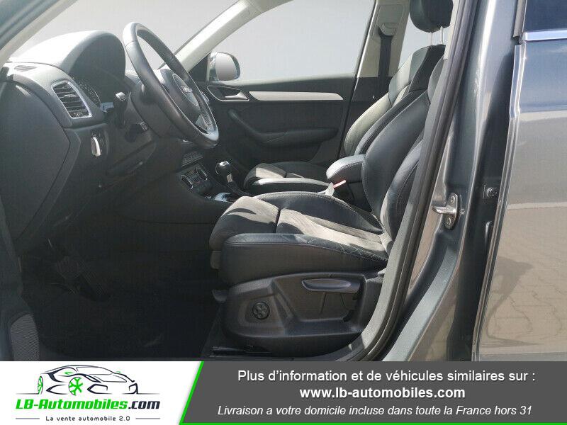 Audi Q3 2.0 TDI 150 ch Quattro S tronic S Line Gris occasion à Beaupuy - photo n°4