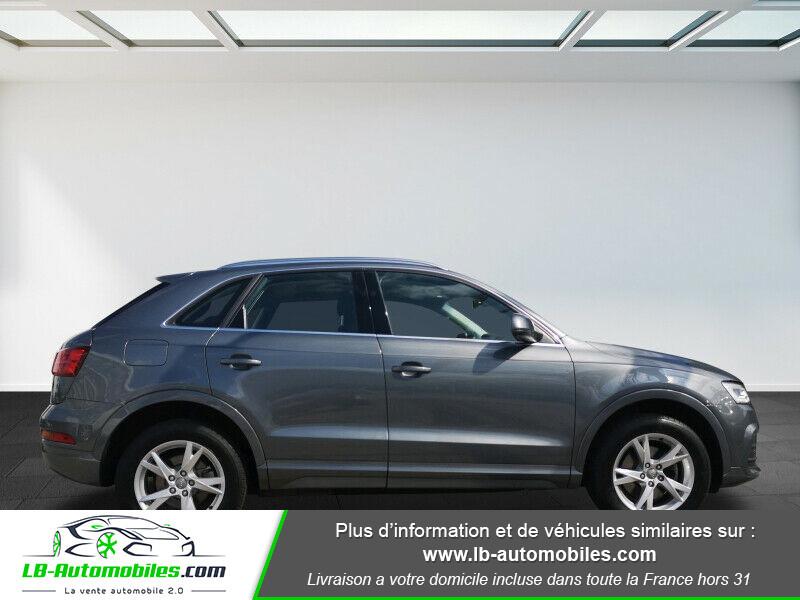 Audi Q3 2.0 TDI 150 ch Quattro S tronic S Line Gris occasion à Beaupuy - photo n°6