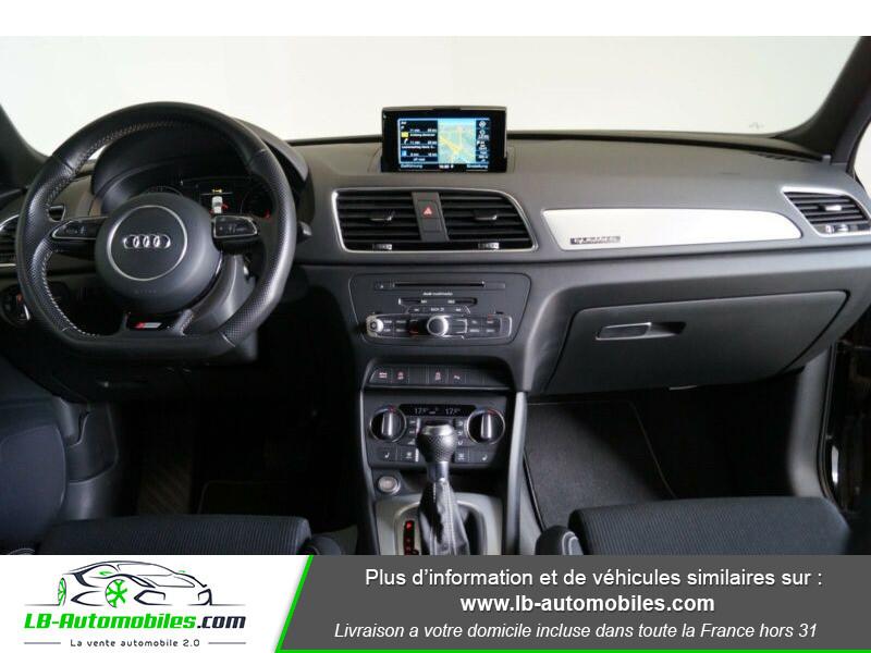 Audi Q3 2.0 TDI 150 ch Quattro S tronic S Line Noir occasion à Beaupuy - photo n°2