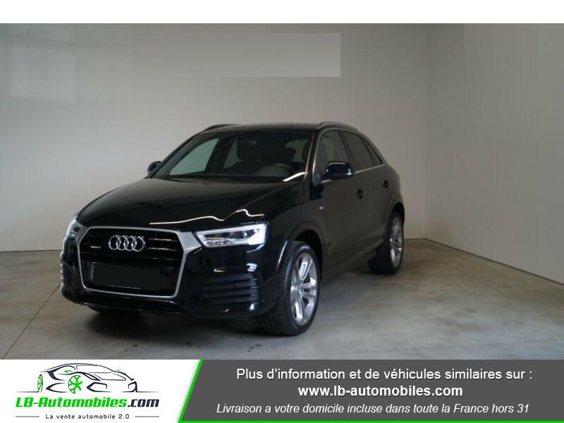 Audi Q3 2.0 TDI 150 ch Quattro S tronic S Line Noir occasion à Beaupuy