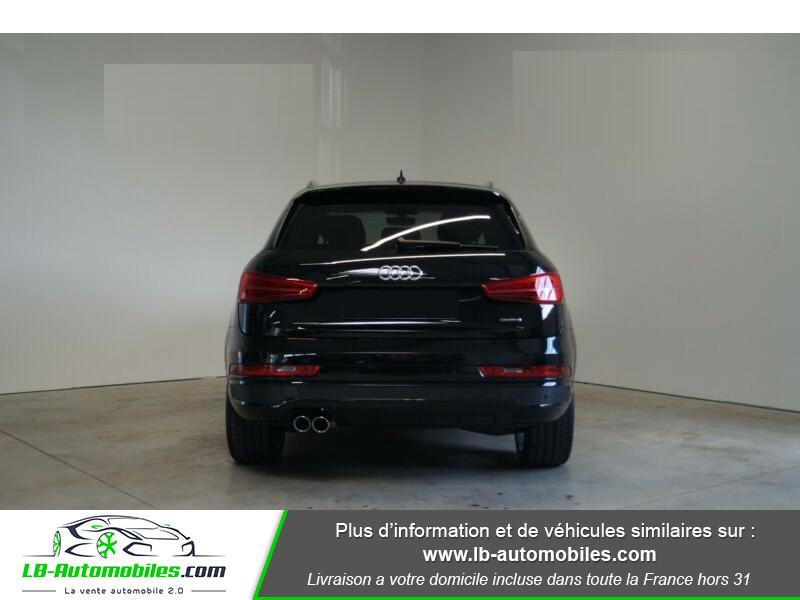 Audi Q3 2.0 TDI 150 ch Quattro S tronic S Line Noir occasion à Beaupuy - photo n°13